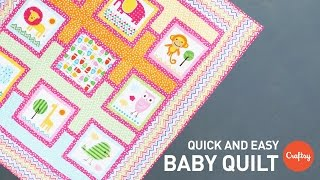 Baby Quilt Project (Quick & Easy!) | Quilting Tutorial