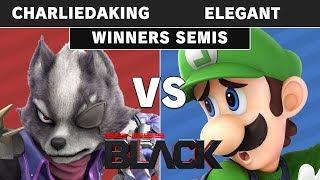 Genesis Black - Charliedaking (Wolf) Vs NVR | Elegant (Luigi) Winners Semi - Smash Ultimate