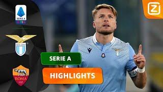 EEN HEERLIJKE ROMEINSE DERBY! 🇮🇹   Lazio vs Roma   Serie A 2020/21   Samenvattin