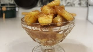 Southern Fried Apples (Quick Version - Recipe Only) The Hillbilly Kitchen