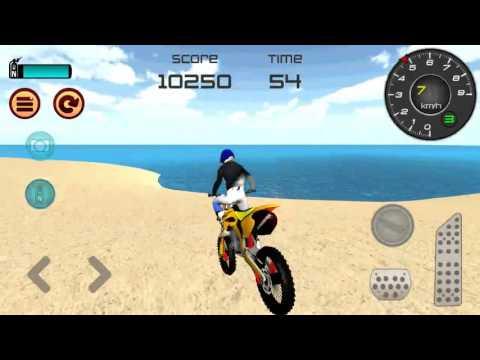 Motocross Beach Jumping 3D  Walkthrough GamePlay Android Game