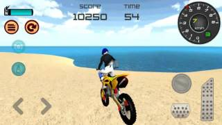 Motocross Beach Jumping 3D  Walkthrough GamePlay Android Game