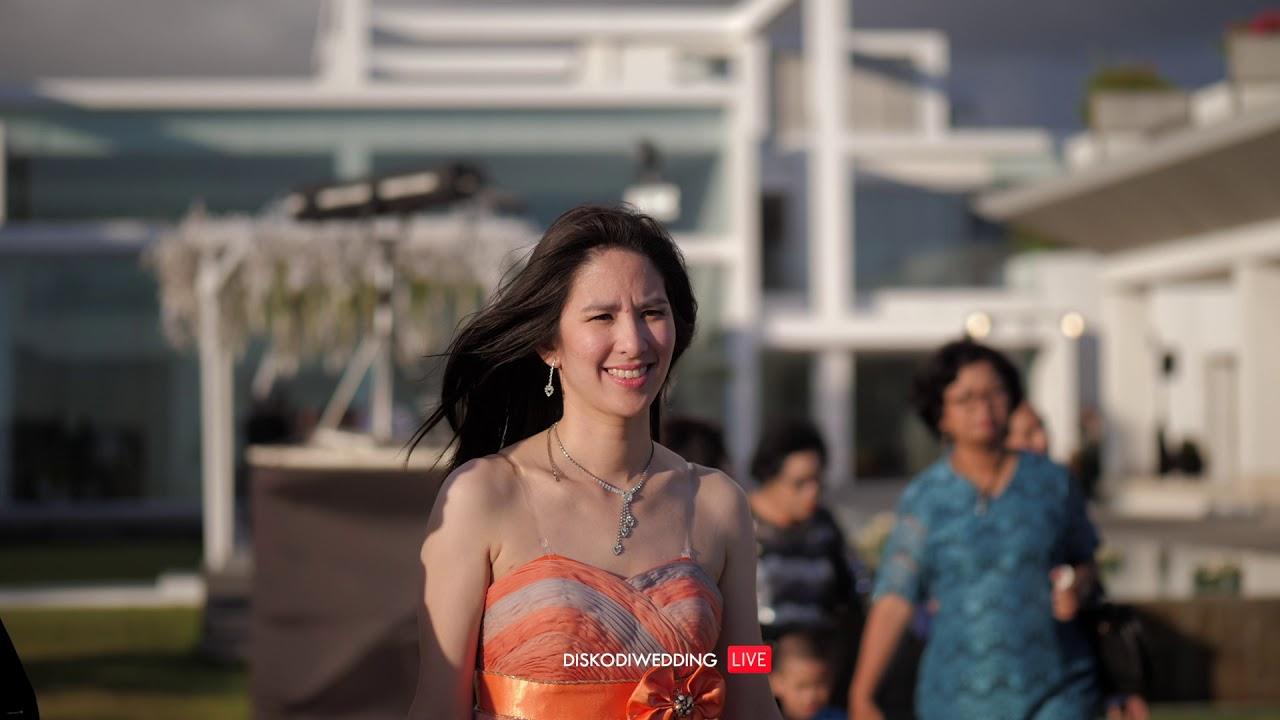 [ LIVE REC ] Sunset Cocktail Vibes at Villa Ombak Biru Bali | #Diskodiwedding | Xander & Nadia |