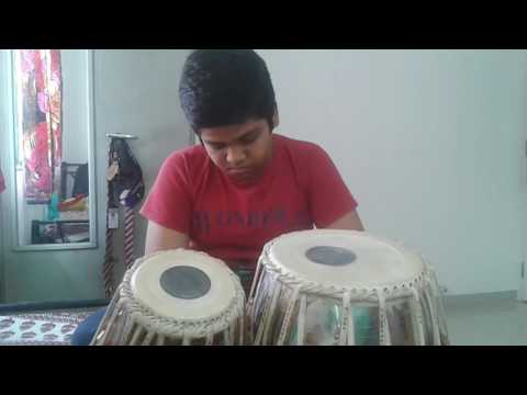 Baje Go Bina Tabla cover by Seershan..Tribute to Manna Dey