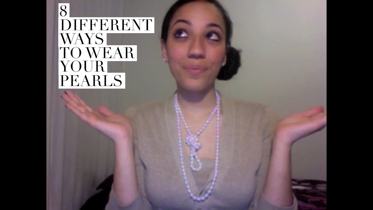 8 Different Ways to Wear Your Pearls