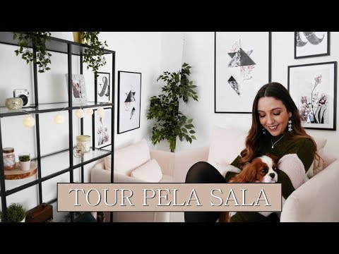 TOUR PELA SALA + Novas Decorações