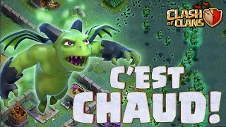 Clash of Clans TOUJOURS DANS LE TOP MAIS C'EST CHAUD !!!