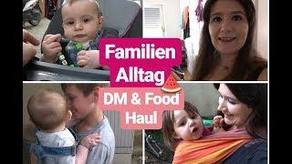 VLOG| DM & Foodhaul| Mama Alltag mit 4 Kindern| Routine mit 3 Kleinkindern