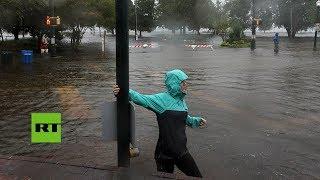 El huracán Florence inunda las Carolinas tras tocar tierra en EE.UU.