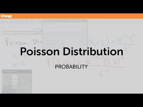 Poisson Distribution | Statistics and Probability | Chegg Tutors