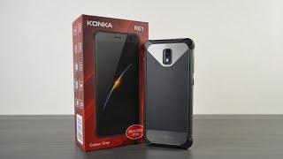 Konka RE1 - бюджетный защищённый смартфон с 4G!