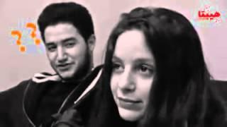 جميلة عوض واعتراف احمد مالك لها بحبه امام الكاميرا شاهد الفيديو