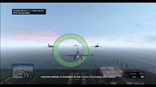 GTA 5 Online - Formation Flight