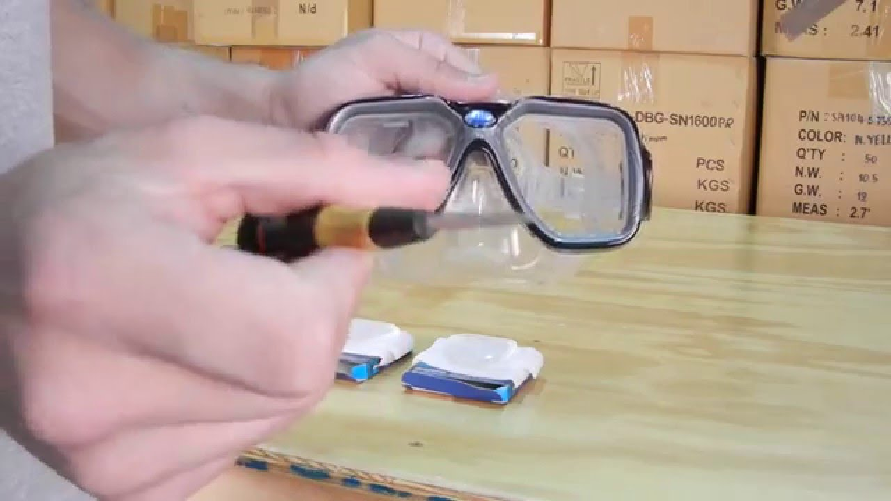 b92a5b0717b Snorkel-Mart Tutorials- How to change lenses in a prescription ...