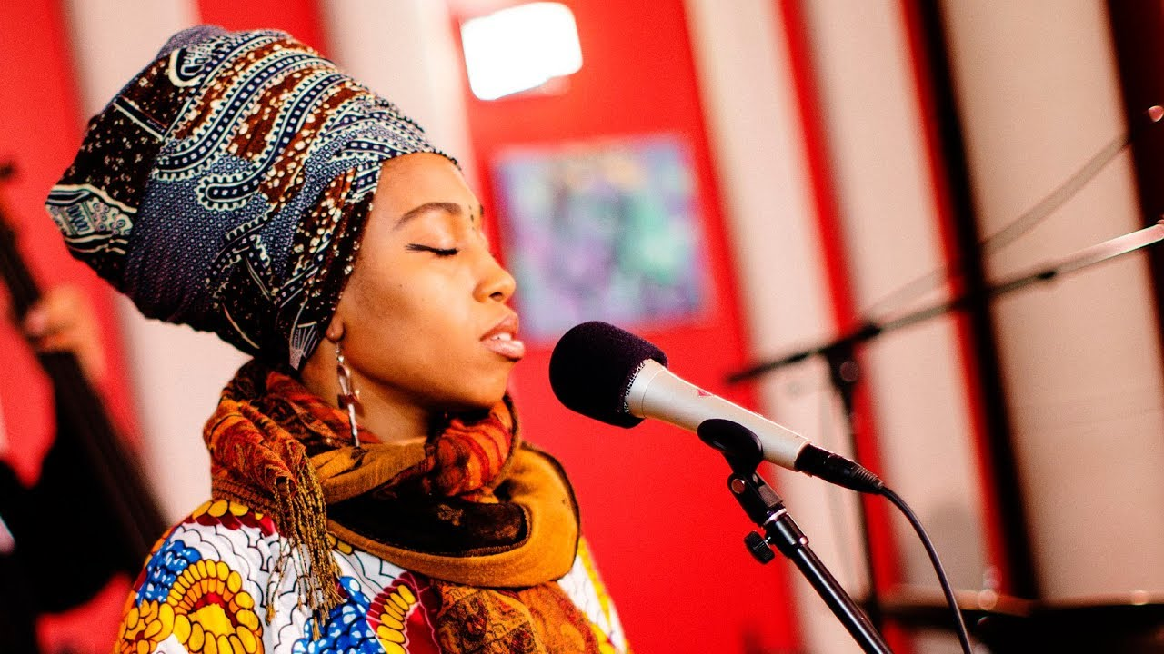 Jazzmeia Horn 'Tight' | Live Studio Session