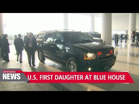 South Korean President hosts U.S. delegation led by Ivanka Trump at the Blue House