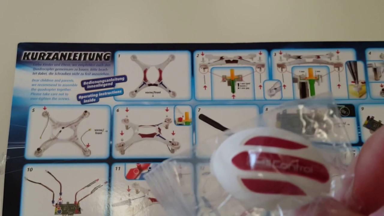 Revell Weihnachtskalender.Tür 20 Revell Control 01011 Adventskalender Quadcopter