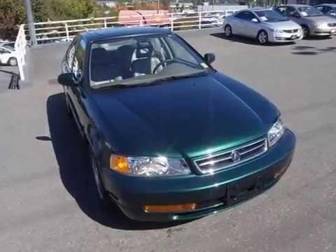 1999 Acura 1.6 EL Premium @ Campus Honda in Victoria - YouTube on