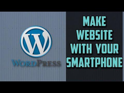 WordPress android apps tutorial | website development thumbnail