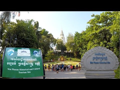 WAT PHNOM Historical & Cultural Tourism Site, The Top Tourist Attraction in Phnom Penh City