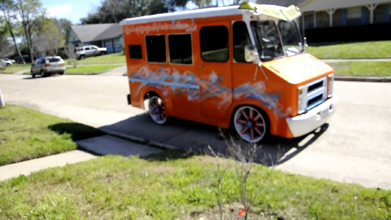 Pimped Out Ice Cream Man