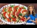 Easy Caprese Salad Recipe With Balsamic Glaze
