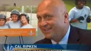 "Cal Ripken, Jr. sits down for a ""Lunch With Lindsay"" segment"