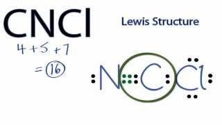 CNCl Lewis Structure: How to Draw the Lewis Structure for CNCl