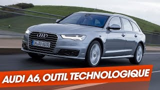 Audi A6 : La plus techno des berlines