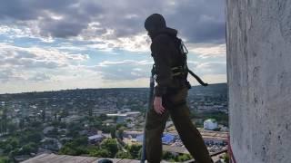 75 метров роупджамп.Волгоград 2017.