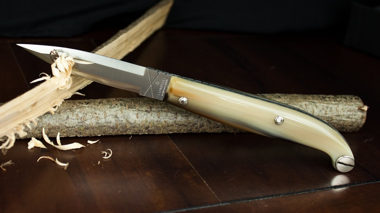Traditional Italian Knife: Tre Pianelle by Consigli | FunnyCat TV