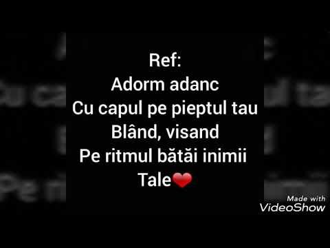Damia si Killa Fonic -Adorm (lyrics)