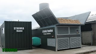 Stronga biomass drying solutions | FlowDrya & Heatex | Sinclair Agricultural & Recycling Services