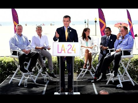 Los Angeles Selected As America's Bid City | Full Press Conference