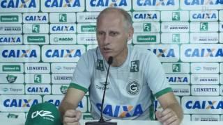 Goias: Confira a entrevista do Técnico Silvio Criciúma após a vitória diante do Atlético