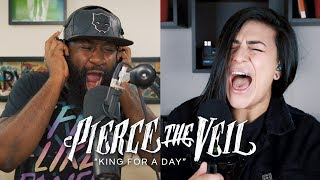 PIERCE THE VEIL - King For A Day (Cover by @Lauren Babic & @YoungRippa59)
