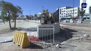 الأمانة تبدأ إنشاء جسور خرسانية في تقاطع المدينة الرياضية
