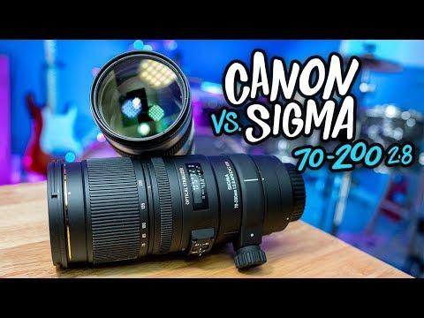 Lens Showdown: Canon Vs. Sigma 70-200mm F2.8