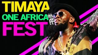 #OneAfricaMusicFest: TIMAYA & MACHEL MONTANO Performs Live At Barclays Center