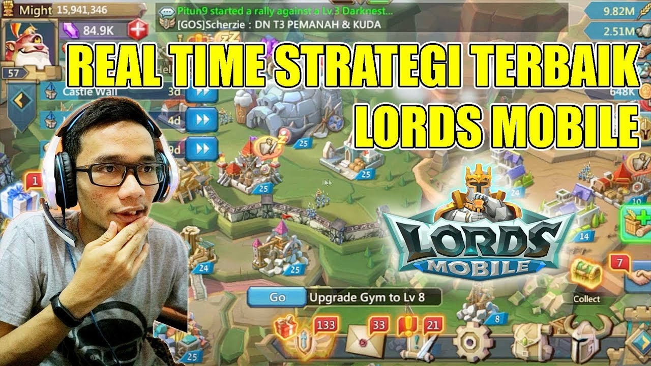 GAME MOBILE REAL TIME STRATEGY TERBAIK 2018 - LORDS MOBILE PART 1 ...