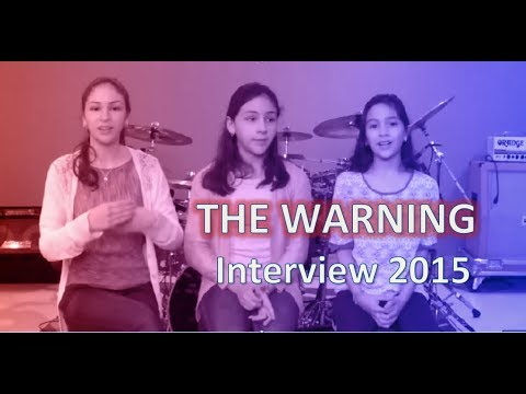 The Warning - English Interview 2015