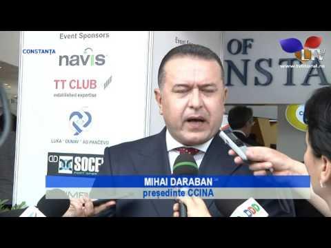 Black Sea Ports and Shipping 2016, la Constanța - Litoral TV