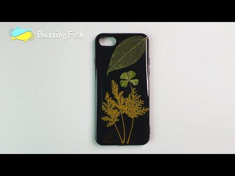 DIY. Make a resin Leaf IPhone Case, Very Simple | Resin Diy