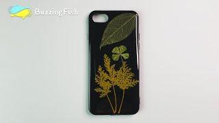 DIY. Make a resin Leaf IPhone Case, Very Simple   Resin Diy