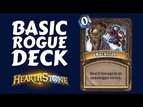 BASIC ROGUE DECK GUIDE   BACKSTABBING FOR FUN AND PROFIT   Hearthstone