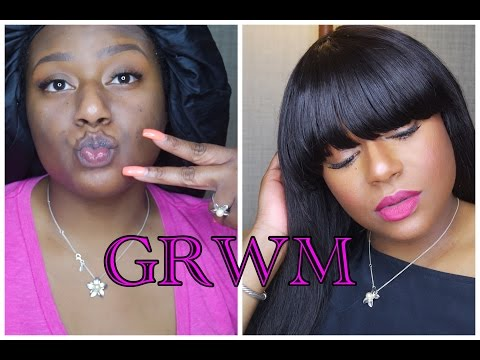grwm-|-bout-to-get-in-these-pittsburgh-streets-|-hnd-extensions-|-tawana