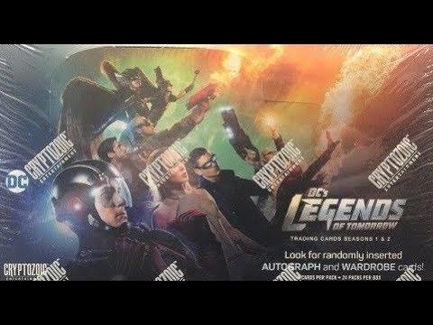 DC Legends Of Tomorrow Season 1 /& 2 Official Cryptozoic Binder