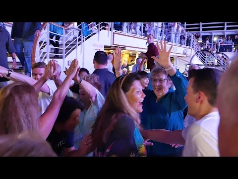 Princess Cruises Love Boat Disco Deck Party (HD)