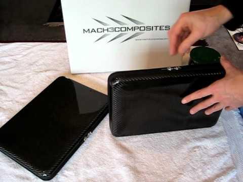 Caring for your Mach 3 Composites TAC-1 carbon fiber case.