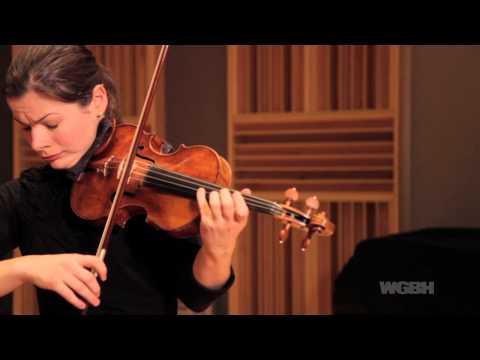 WGBH Music: Bella Hristova plays Bach's Partita No. 2 for solo violin
